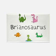 Brianosaurus Rectangle Magnet