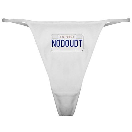 NODOUDT Classic Thong