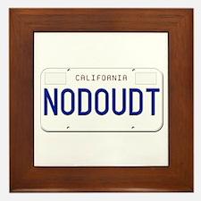 NODOUDT Framed Tile