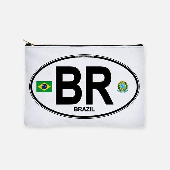 Brazil Intl Oval Makeup Pouch