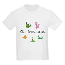 Charlieosaurus Kids T-Shirt