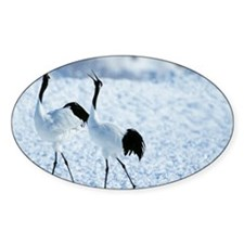 Japanese Cranes Decal