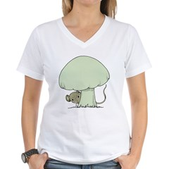 Mouse under Mushroom Shirt