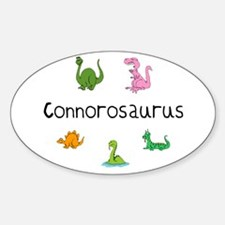 Connorosaurus Oval Decal