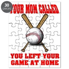 Funny Baseball Saying Puzzle