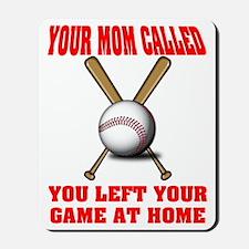 Funny Baseball Saying Mousepad