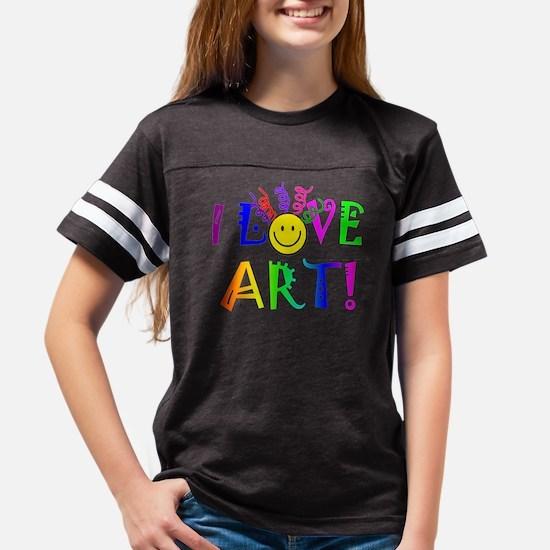 Love Art Youth Football Shirt
