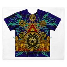 Solomons Magic Pentacle Shirt King Duvet