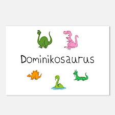 Dominikosaurus Postcards (Package of 8)