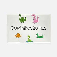 Dominikosaurus Rectangle Magnet
