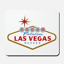 Vegas Groom Mousepad