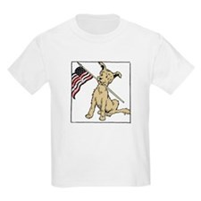 American Dog Kids T-Shirt