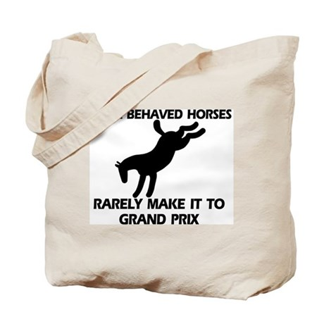 Well Behaved Horses Tote Bag