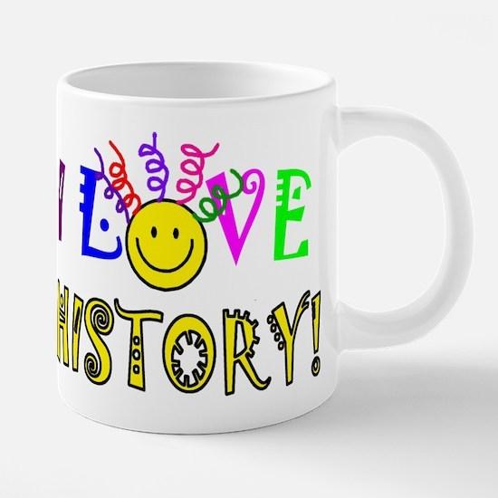 Love History 20 oz Ceramic Mega Mug