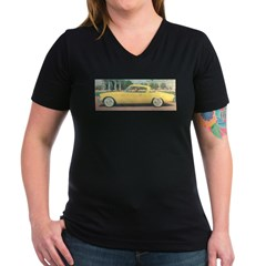 Yellow 1953 Studebaker on Shirt