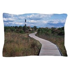 Lighthouse with path Pillow Case