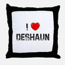 I * Deshaun Throw Pillow