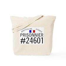 Prisonnier #24601 Tote Bag