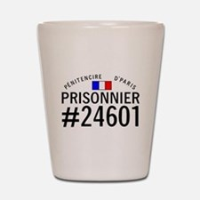 Prisonnier #24601 Shot Glass