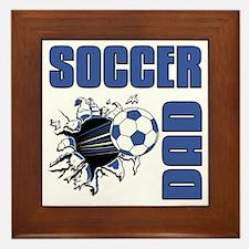Soccer Dad Framed Tile