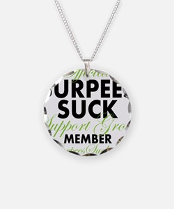 support group G1 Lime - Blac Necklace