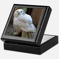 Snowy Owl Full Keepsake Box