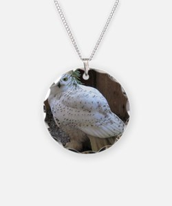 Snowy Owl Full Necklace