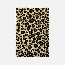 Leopard Adressbuch Rectangle Magnet