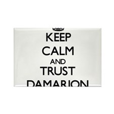 Keep Calm and TRUST Damarion Magnets