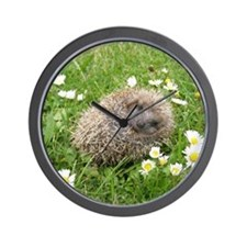 Wonderful Spanish little Hedgehog. Wall Clock