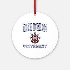 BIRMINGHAM University Ornament (Round)