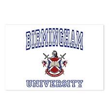 BIRMINGHAM University Postcards (Package of 8)