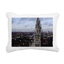 Munich Cityscape Rectangular Canvas Pillow