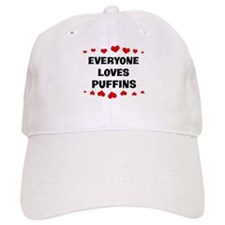 Loves: Puffins Baseball Cap