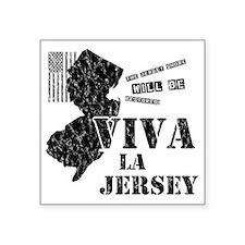 """VivaLaJersey_W Square Sticker 3"""" x 3"""""""