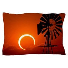 2012 annular eclipse with windmill at  Pillow Case