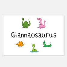 Giannaosaurus Postcards (Package of 8)