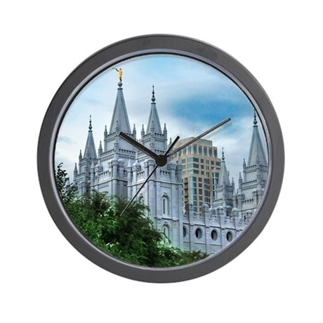 Salt Lake temple from North Temple Wall Clock