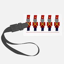 Nutcracker Soldiers Luggage Tag