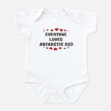 Loves: Antarctic Cod Infant Bodysuit
