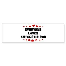 Loves: Antarctic Cod Bumper Bumper Sticker