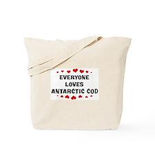 Loves: Antarctic Cod Tote Bag