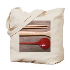 Chopsticks, spoon, lacquer, Japanese cult Tote Bag