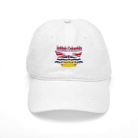 The British Columbia flag ribbon Cap
