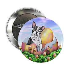 Boston Terrier Easter Button