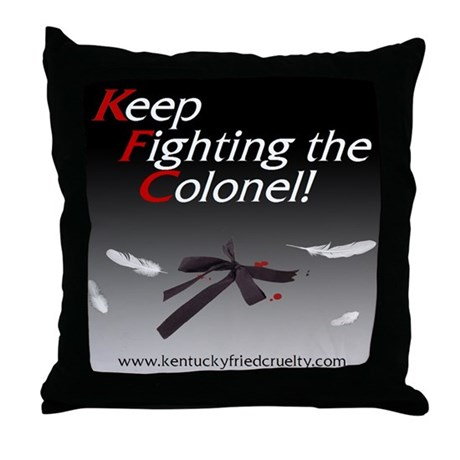 Throw Pillow by keep_fighting