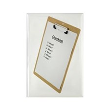 Checklist Rectangle Magnet