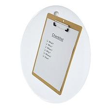 Checklist Oval Ornament