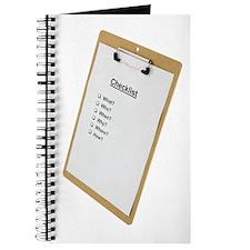 Checklist Journal