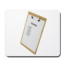 Checklist Mousepad